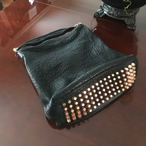 Alexander Wang pebbled leather shoulder bag